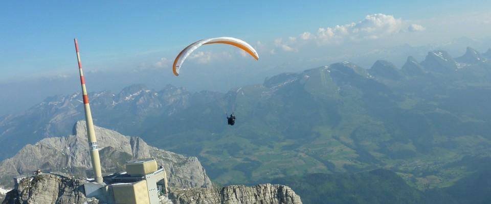 Gleitschirmfliegen - Flugschule Alpstein